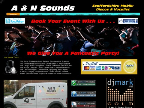 A and N Sounds Mobile Discos