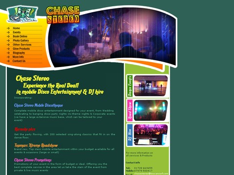 Chase Stereo Disco Show