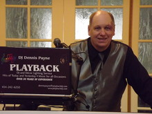 DJ Dennis Payne and PLAYBACK DJ and DECOR LIGHTING SERVICE