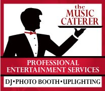 The Music Caterer DJ Photo Booth Flip Books and Uplighting