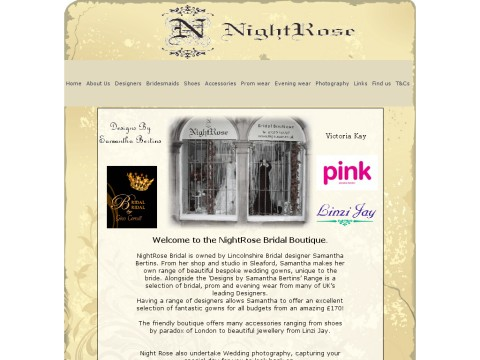 NightRose Bridal Boutique
