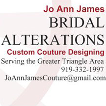 Joann James BRIDAL ALTERATIONS and COUTURE