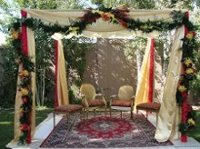 Artistic Arch Chuppah and Mandap Rentals by Enchante Celebrations