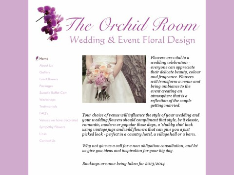 The Orchid Room Wedding and Event Floral Design