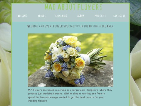 Mad About Flowers