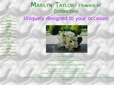 Marilyn Taylor Flowers of Distinction