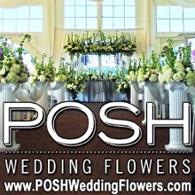 Posh Wedding Flowers