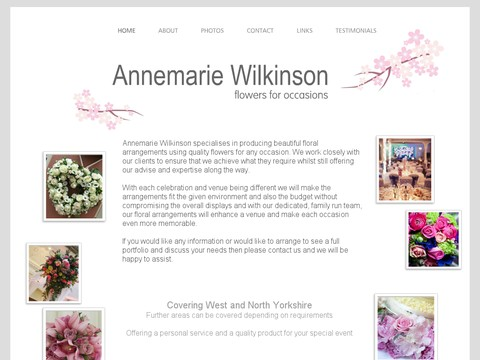 Annemarie Wilkinson flowers for occasions