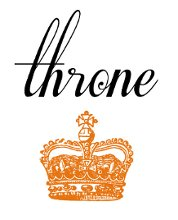 Throne Invitations and anything printed