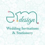 EmDesign Iowa Wedding Invitations
