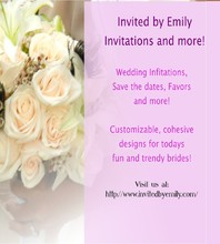 Invited by Emily Invitations and more