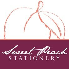 Sweet Peach Stationery