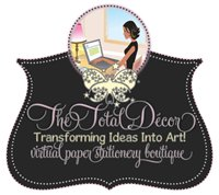 The Total Decor Customized Stationery Graphic Design and Printing