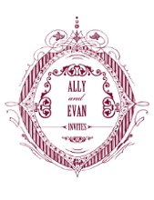 Ally and Evan Invitations