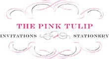 The Pink Tulip Invitations and Stationery