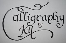 Calligraphy by Kit