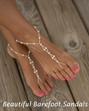 Beautiful Barefoot Sandals