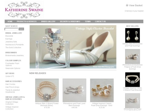 Katherine Swaine Bridal Jewellery and Hair Accessories