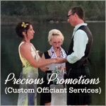 Rev Jewel Olson Custom Officiant Services Precious Promotions LLC