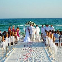 My Beach Side Wedding