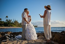 Hawaii Beach Civil Unions Melani Weddings