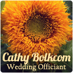 Cathy Bolkcom Wedding Officiant