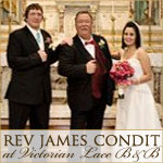 Reverend James Condit at Victorian Lace B and B