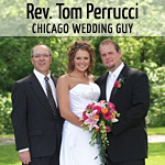 Rev Tom Perrucci Chicago Wedding Guy