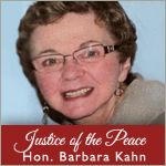 Justice of the Peace Hon Barbara Kahn