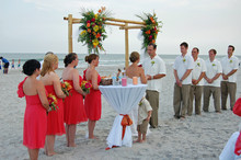 A Beach Wedding Minister Weddings of Topsail