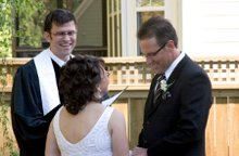 Professional Wedding Officiant Christopher Copeland