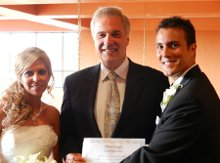 Greg Gordon wedding officiant