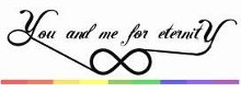 You and me for Eternity