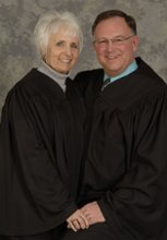 Justices Arthur and Arlene Tatro