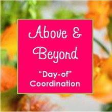 Above and Beyond DayOf Coordination