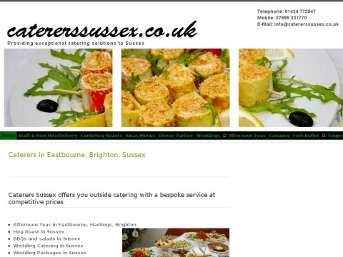 Caterers Sussex