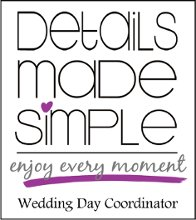 Details Made Simple Wedding Day Coordinator