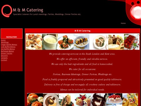 Mand M catering