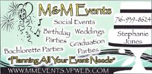 MandM Events