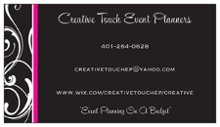 Creative Touch Event Planners