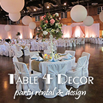 Table 4 Decor Party Rental and Design