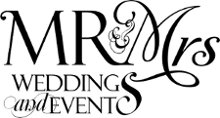 Mr and Mrs Weddings and Events