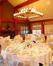 A Mode Events chair covers sashes and linens