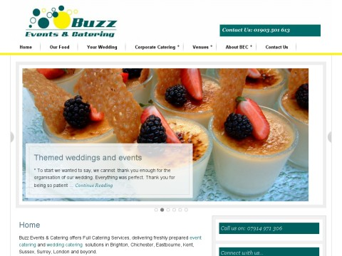 Buzz Events Creative Catering and Wedding Planning