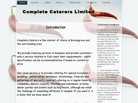 Complete Caterers