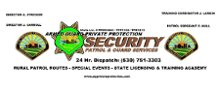 Armed Guard Private Protection