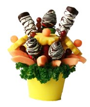 Fruitylicious Chocolate Fountains and Edible Bouquets