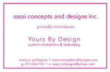 Sassi Concepts and Designs Inc