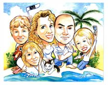 Caricatures by Michael White