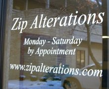 Zip Alterations